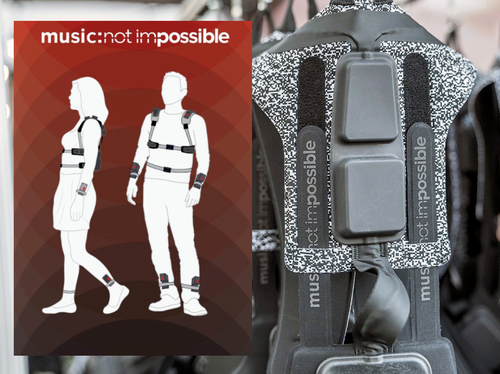 Music Not Impossible harness (picture from audioexpress.com)