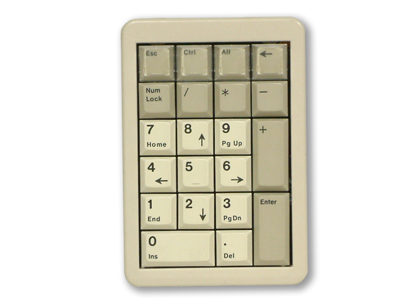 Cherry number pad